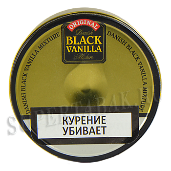 Табак Planta Danish Black Vanilla  (100 гр)